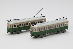 鉄道コレクション 叡山電鉄 デナ21型ポール仕様2両セット