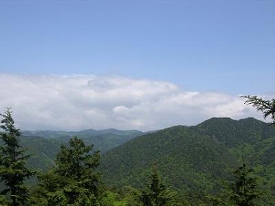 えいでんハイク No.349 江文峠から瓢箪崩山へ ―京都・北山を歩く―
